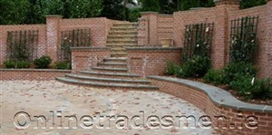 Bricks Stairs Patio Design.Jpg