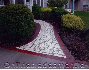 Red And White Patio Idea.Jpg