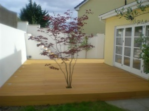 beautiful wood patio design