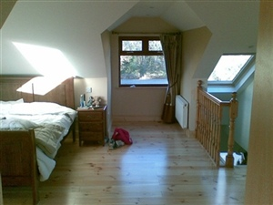 Pine Stair Case Attic Conversion