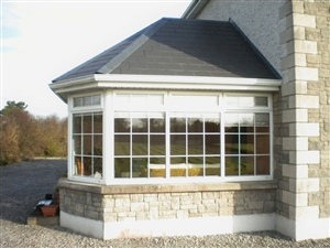 classical sunroom extension