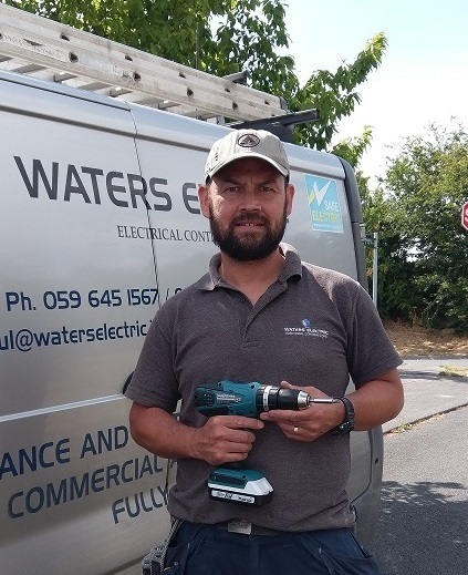 Tradesman Member Profile - Electrician Wicklow - Waters Electric