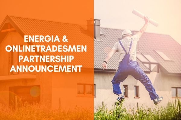 Onlinetradesmen Partners with Energia Group