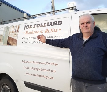 Tradesman Member Profile - Joe Folliard - Tiler